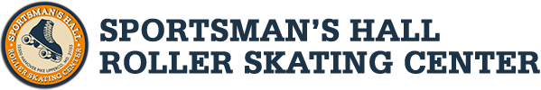 Sportsmans Hall Skating Sticky Logo