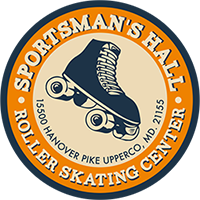 Sportsmans Hall Skating Retina Logo
